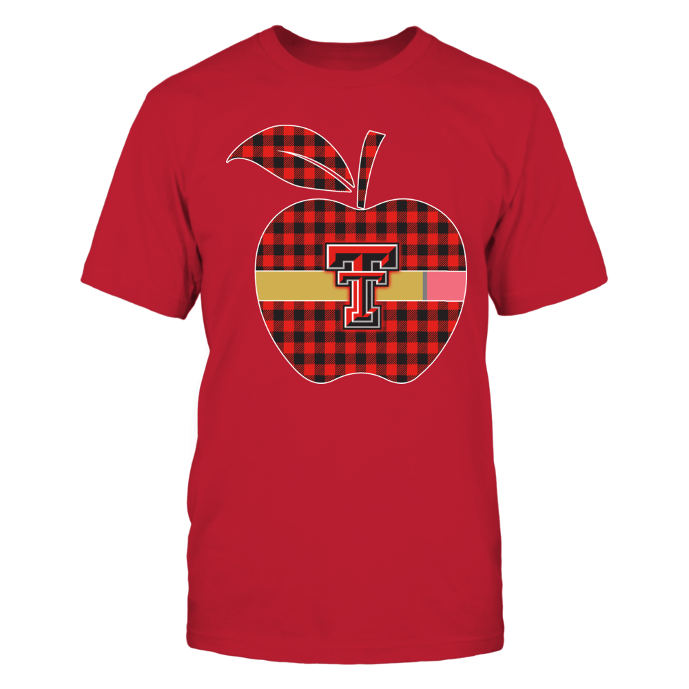 Texas Tech Red Raiders - Checkered Apple Pencil Front picture