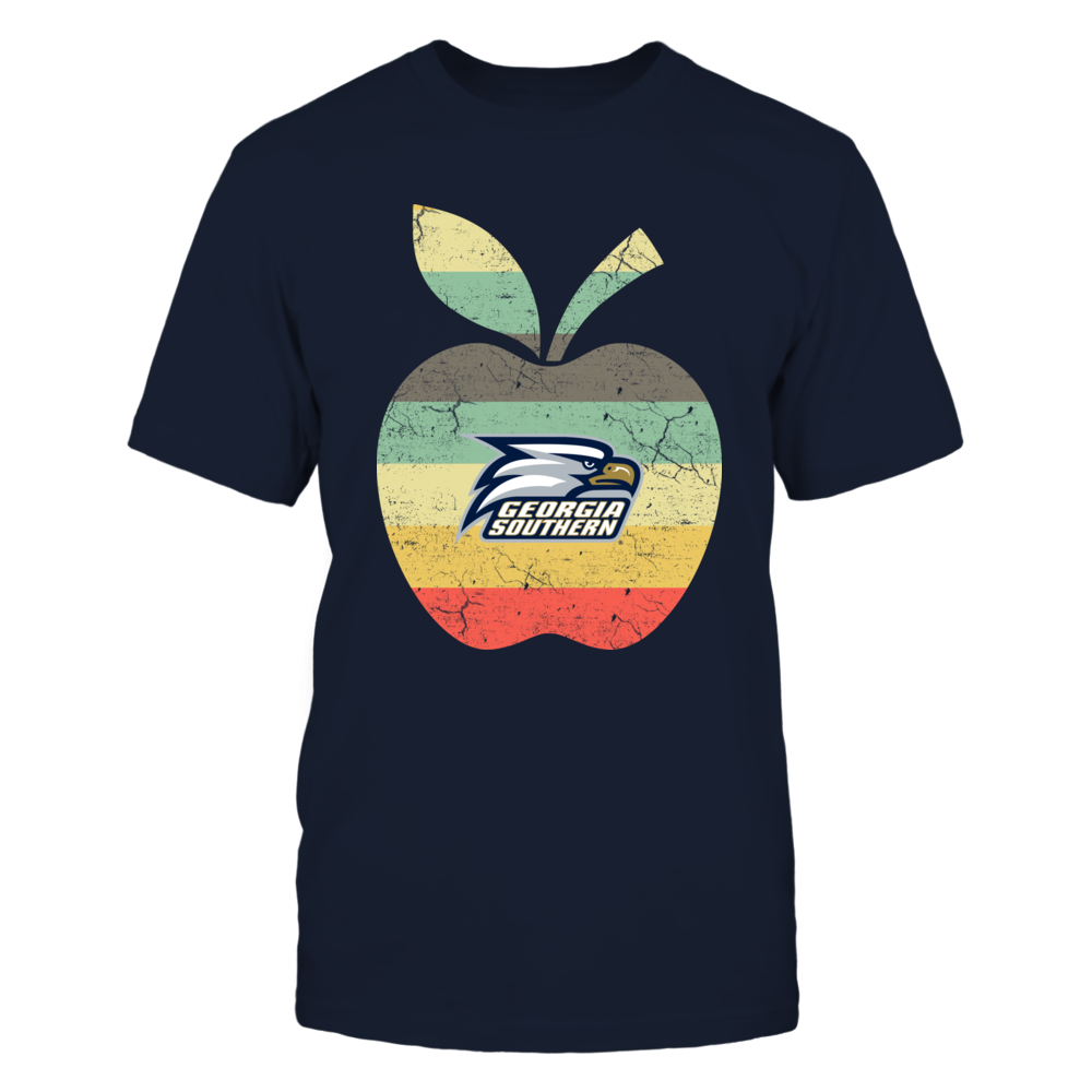 Georgia Southern Eagles - Teacher - Apple Vintage Graphic - IF-IC13-DS45 Front picture