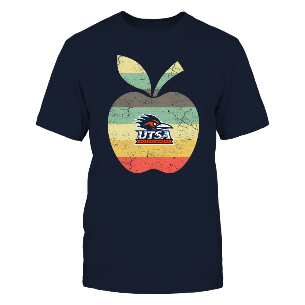 UTSA Roadrunners - Teacher - Apple Vintage Graphic Front picture