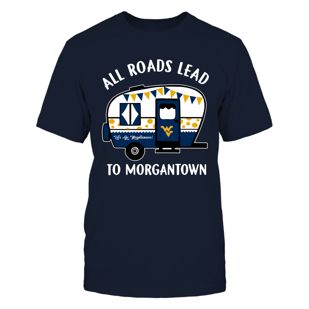 West Virginia Mountaineers - Camping - All Roads Lead To Front picture