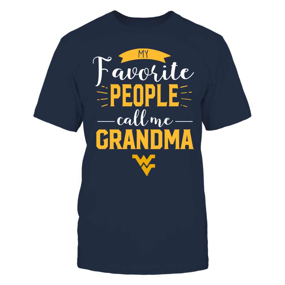 West Virginia Mountaineers - My Favorite People Call Me - Grandma Front picture