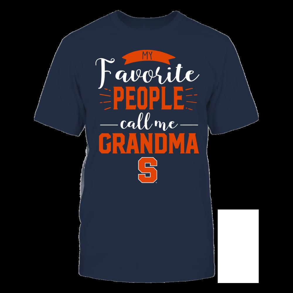 Syracuse Orange - My Favorite People Call Me - Grandma Front picture