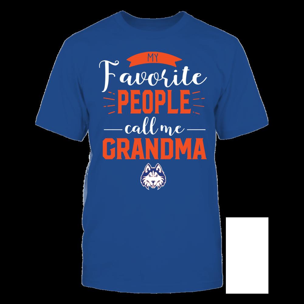 Houston Baptist Huskies - My Favorite People Call Me - Grandma Front picture