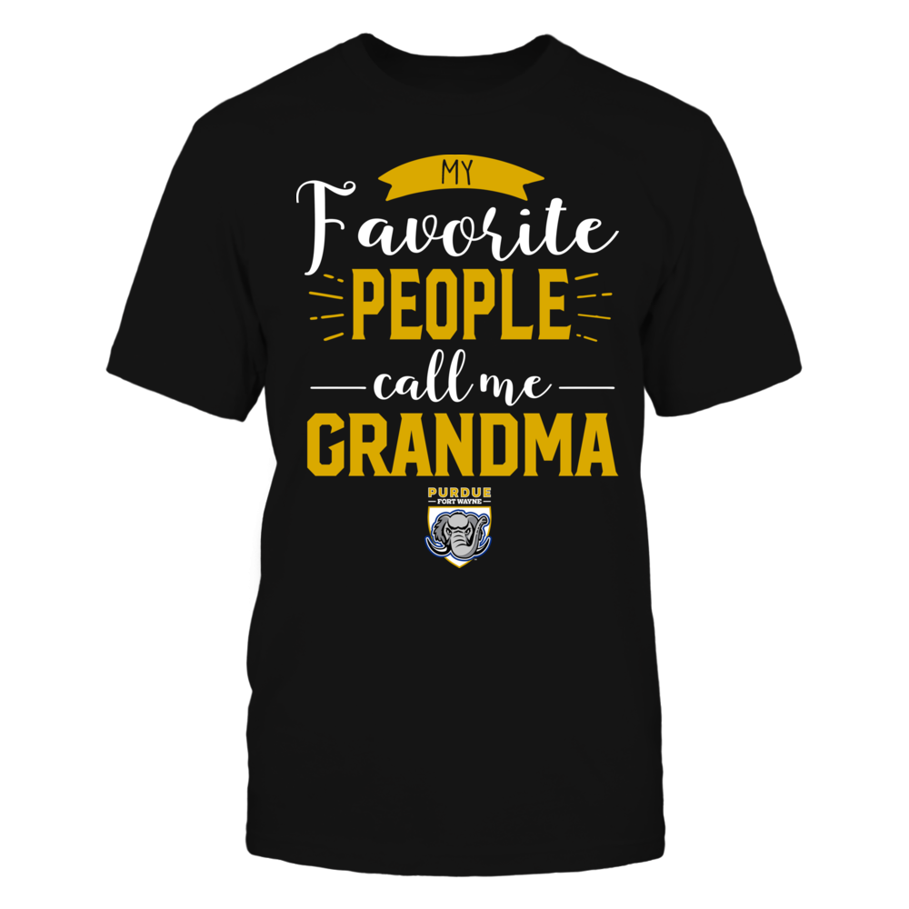 IPFW Mastodons - My Favorite People Call Me - Grandma Front picture