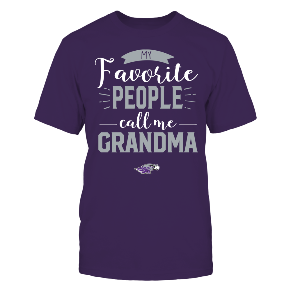 Wisconsin-Whitewater Warhawks - My Favorite People Call Me - Grandma Front picture