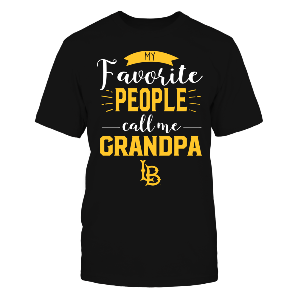 Long Beach State 49ers - My Favorite People Call Me - Grandpa Front picture