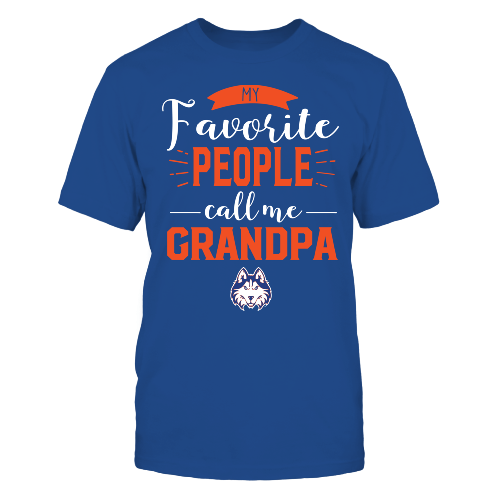 Houston Baptist Huskies - My Favorite People Call Me - Grandpa Front picture