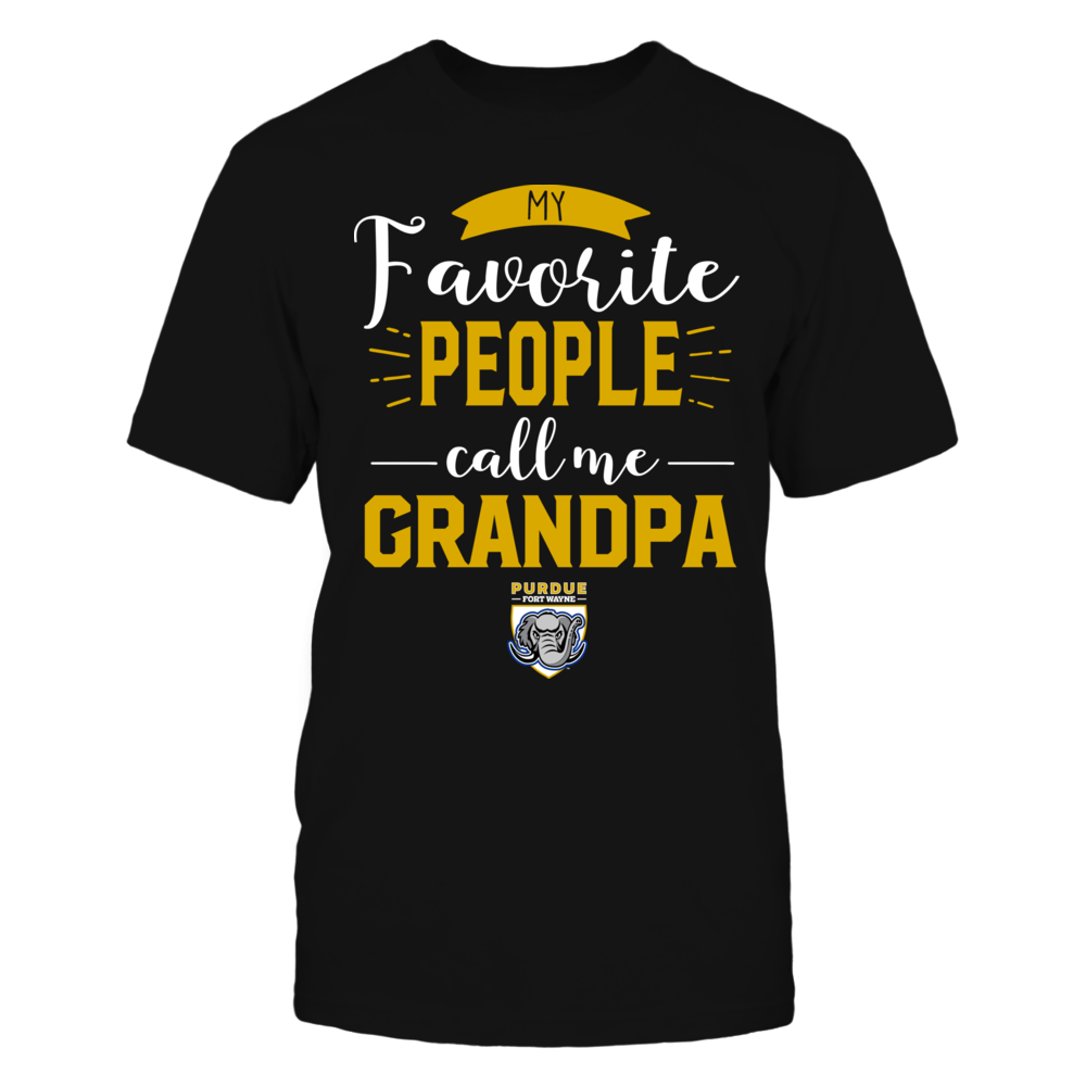 IPFW Mastodons - My Favorite People Call Me - Grandpa Front picture