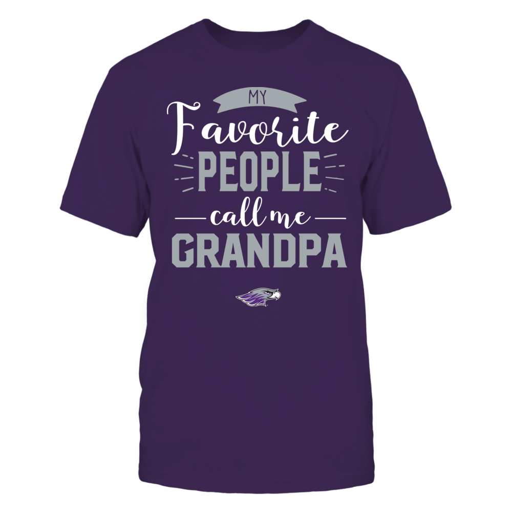 Wisconsin-Whitewater Warhawks - My Favorite People Call Me - Grandpa Front picture