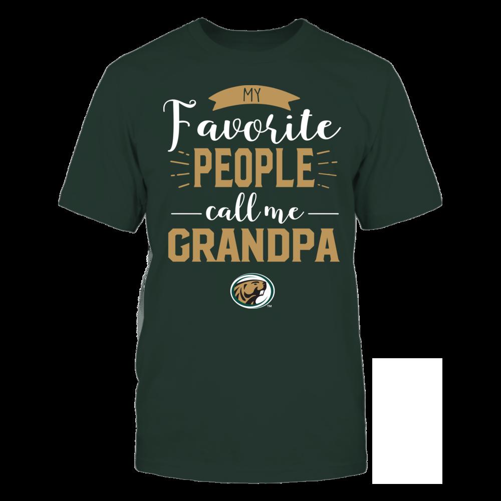 Bemidji State Beavers - My Favorite People Call Me - Grandpa Front picture
