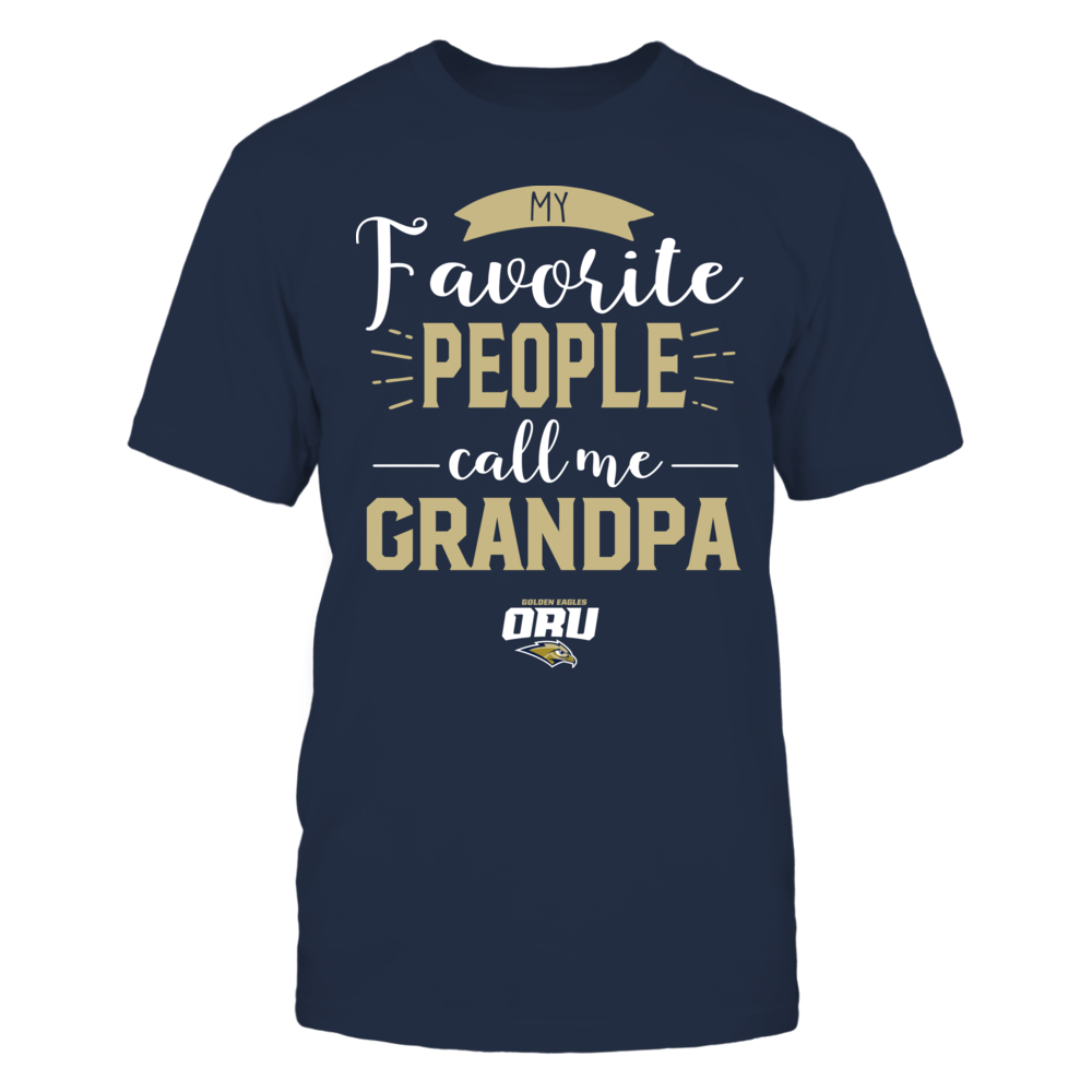 Oral Roberts Golden Eagles - My Favorite People Call Me - Grandpa Front picture