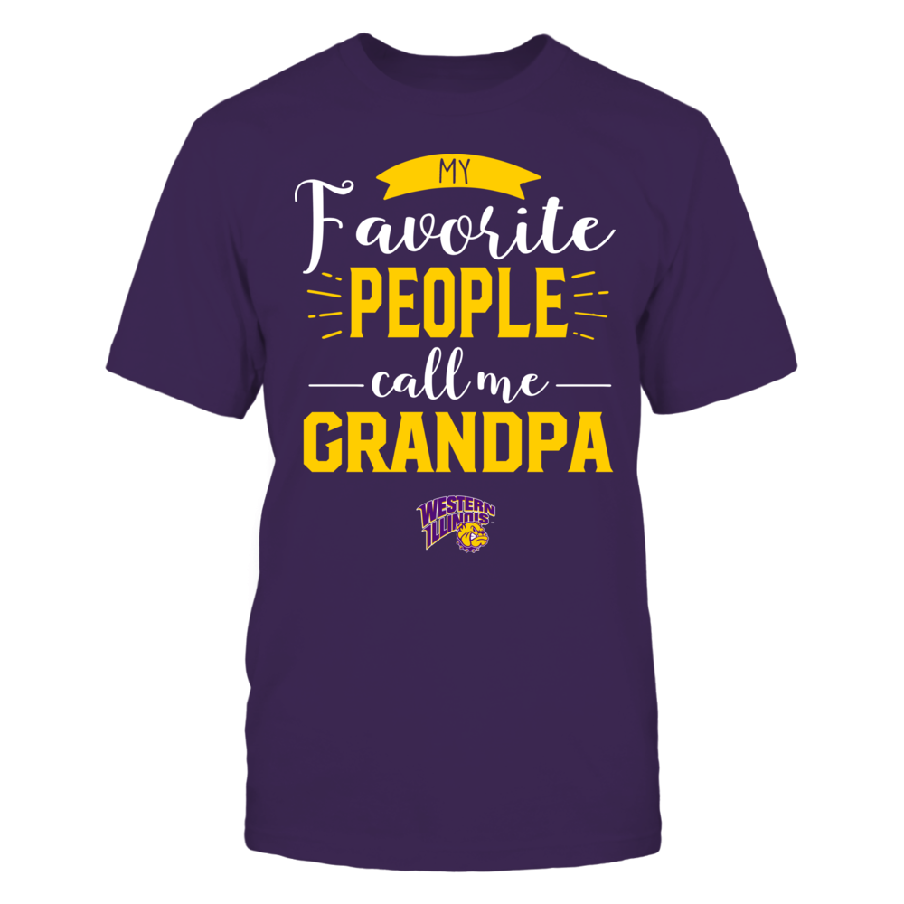 Western Illinois Leathernecks - My Favorite People Call Me - Grandpa Front picture