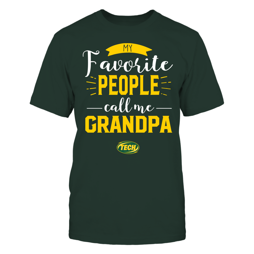 Arkansas Tech Golden Suns - My Favorite People Call Me - Grandpa Front picture
