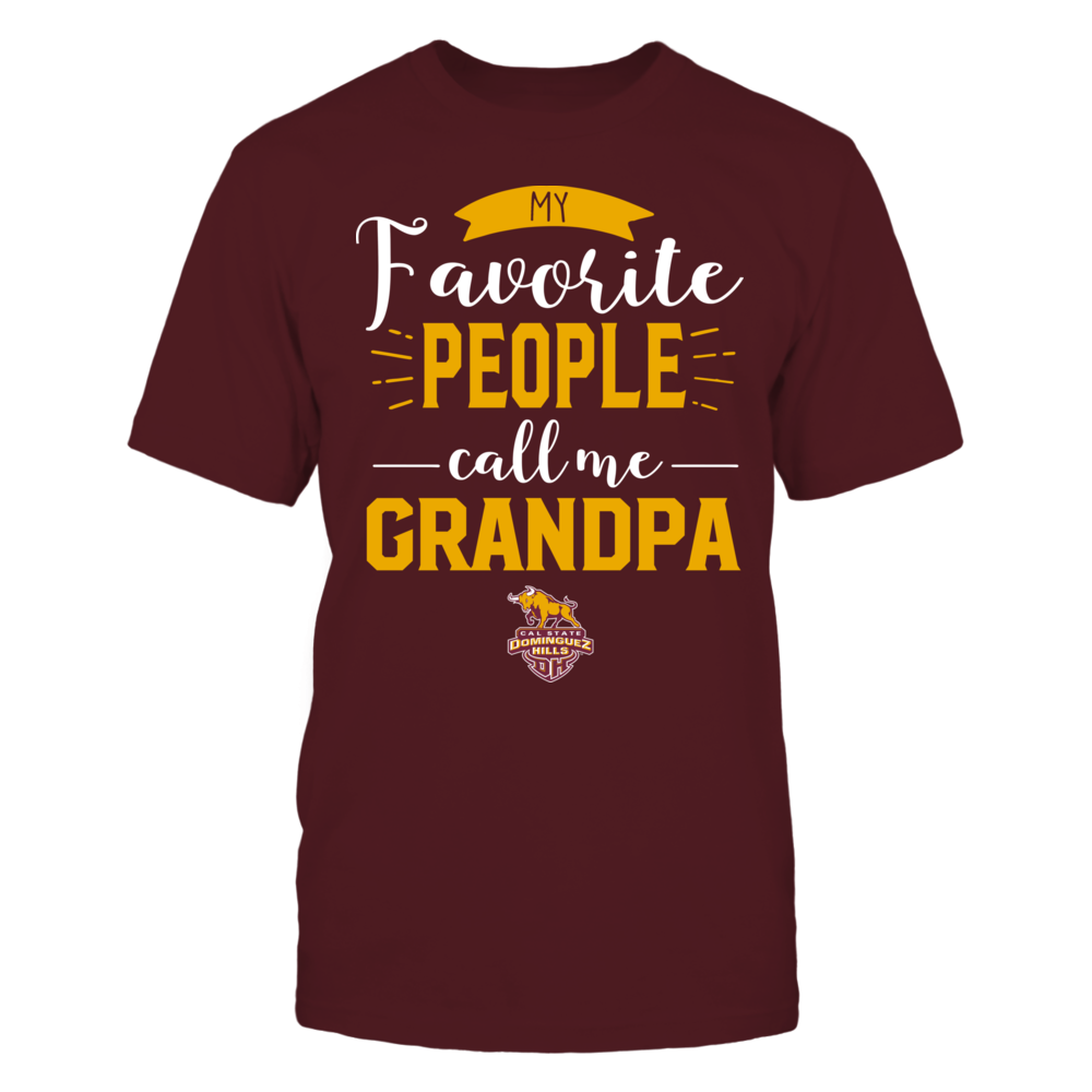 Cal State Dominguez Hills Toros - My Favorite People Call Me - Grandpa Front picture