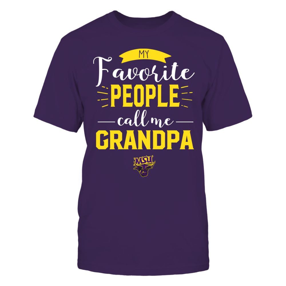 Minnesota State Mavericks - My Favorite People Call Me - Grandpa Front picture