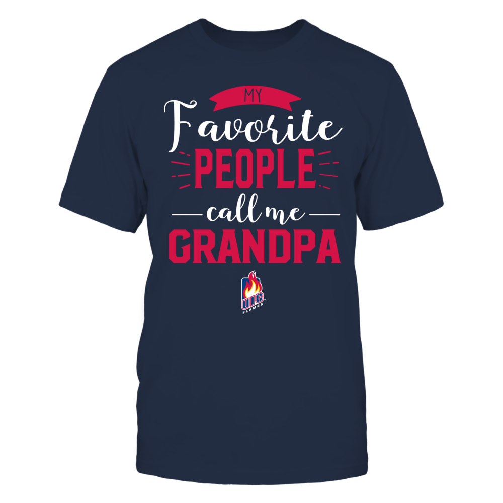 UIC Flames - My Favorite People Call Me - Grandpa Front picture