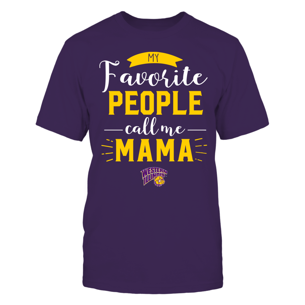 Western Illinois Leathernecks - My Favorite People Call Me - Mama Front picture