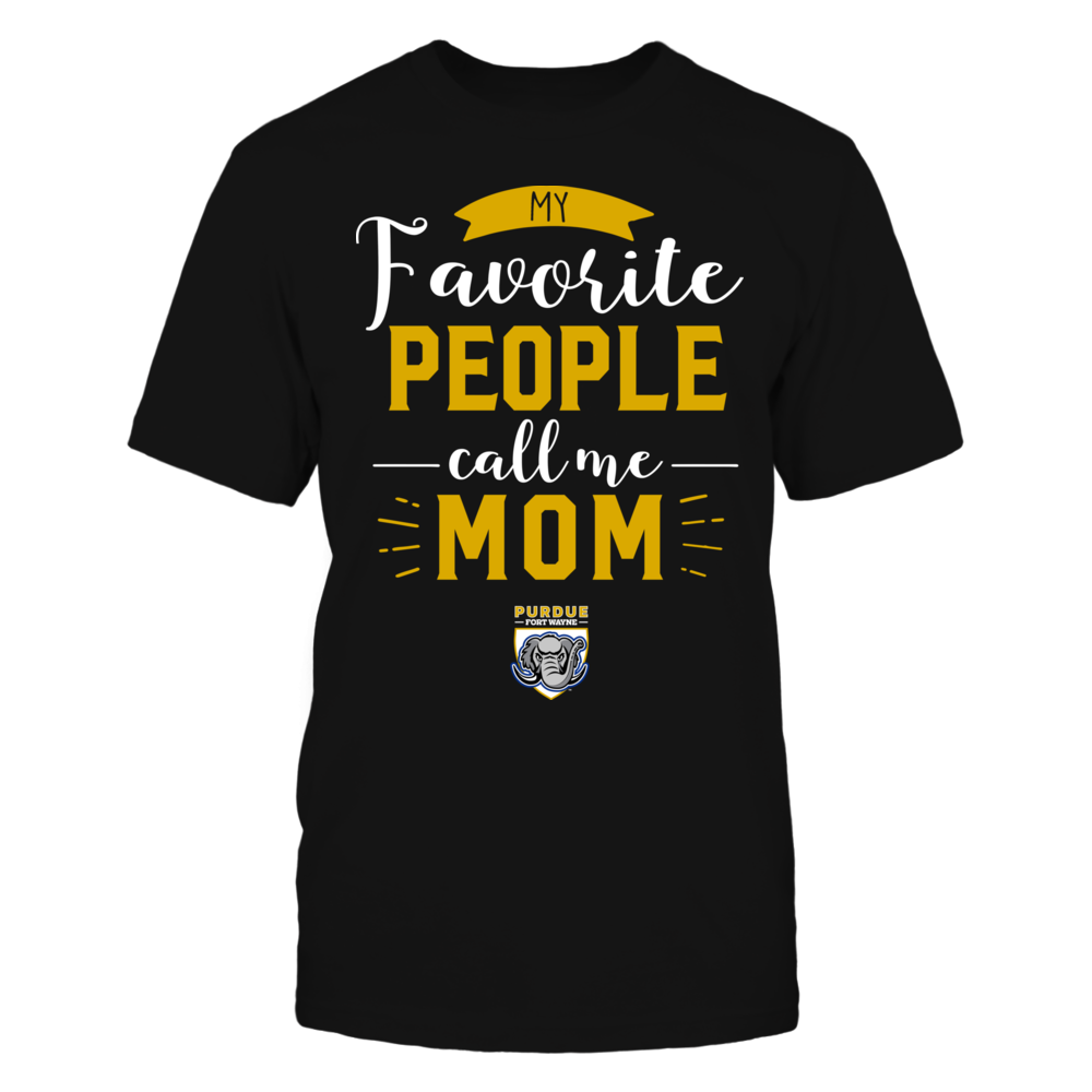 IPFW Mastodons - My Favorite People Call Me - Mom Front picture