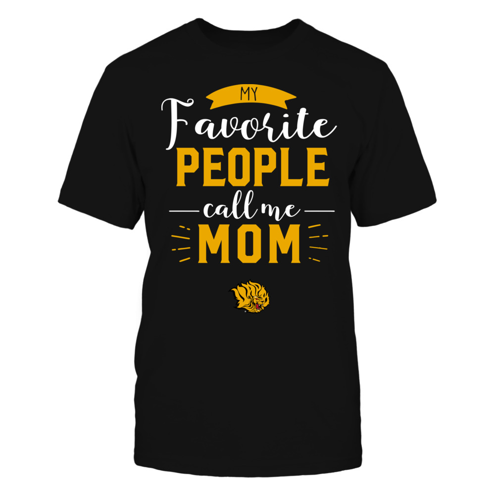 Arkansas Pine Bluff Golden Lions - My Favorite People Call Me - Mom Front picture