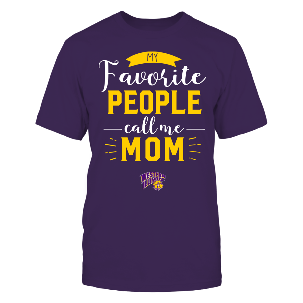 Western Illinois Leathernecks - My Favorite People Call Me - Mom Front picture