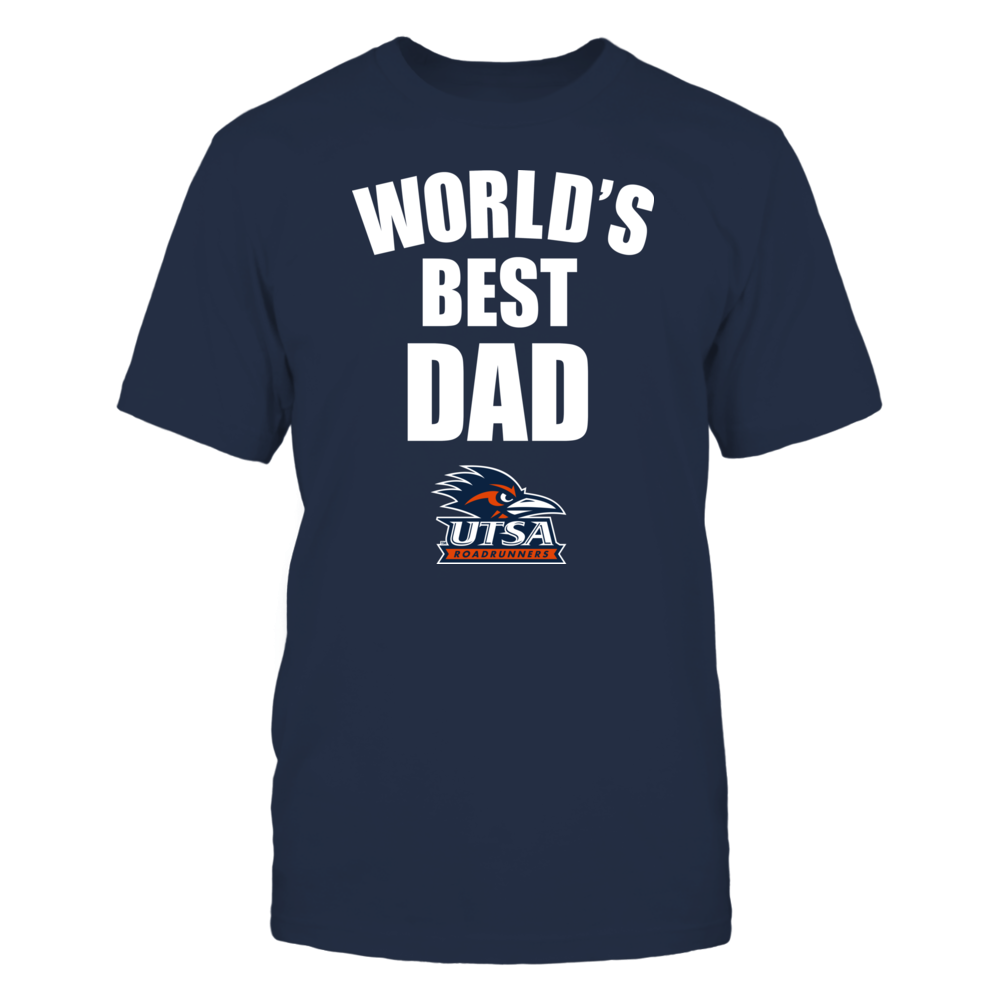 UTSA Roadrunners - World's Best Dad - Bold Front picture
