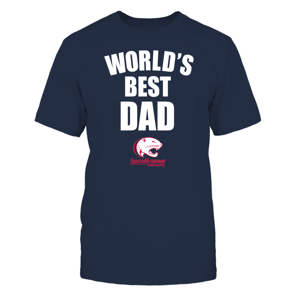 South Alabama Jaguars - World's Best Dad - Bold Front picture