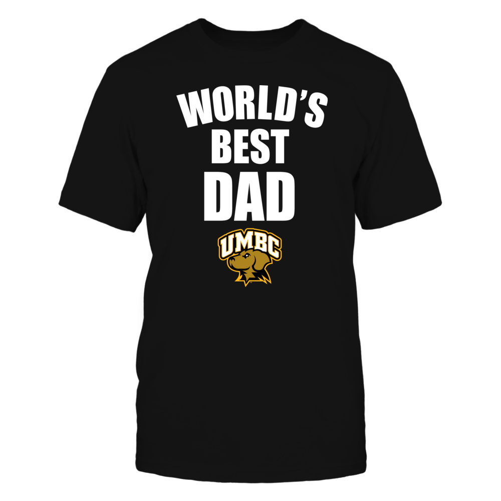 UMBC Retrievers - World's Best Dad - Bold Front picture