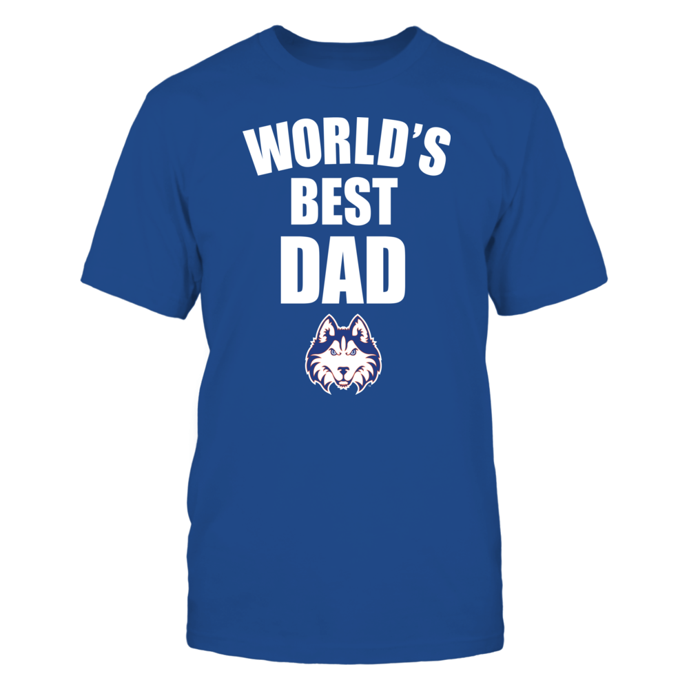 Houston Baptist Huskies - World's Best Dad - Bold Front picture