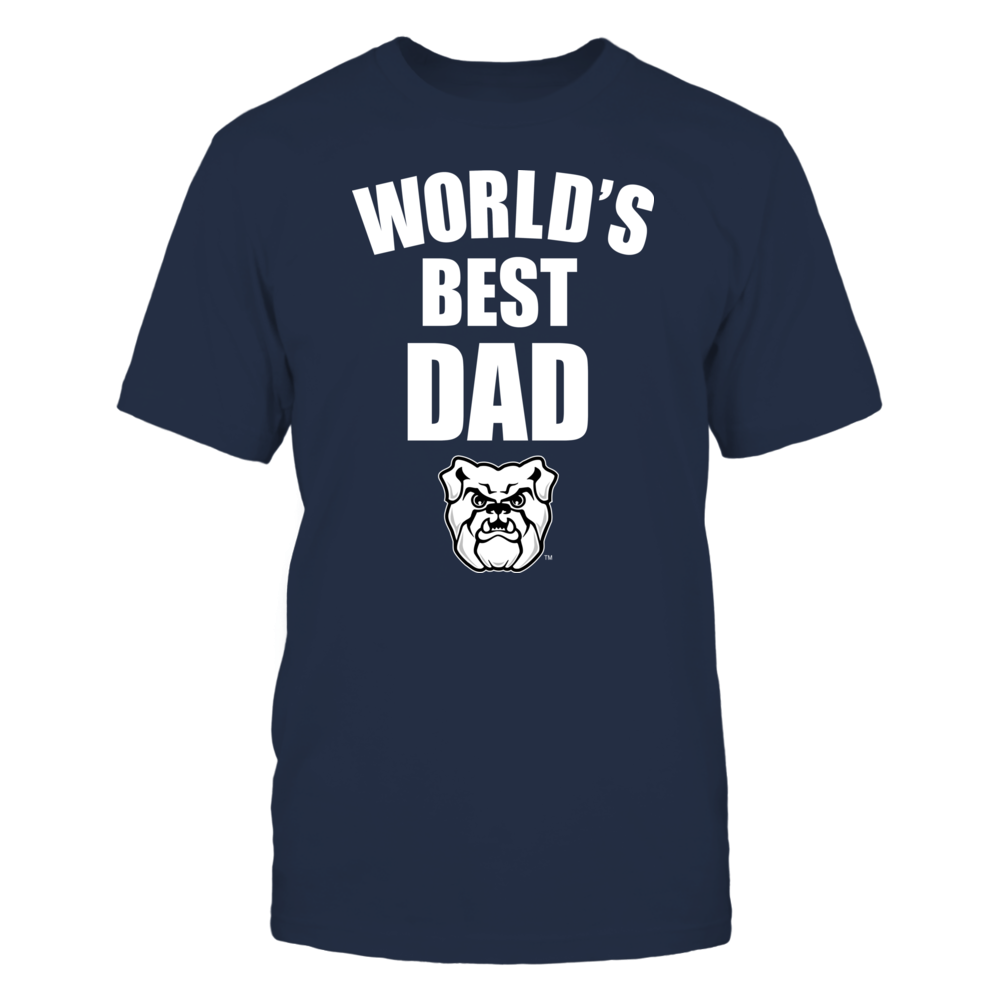 Butler Bulldogs - World's Best Dad - Bold Front picture