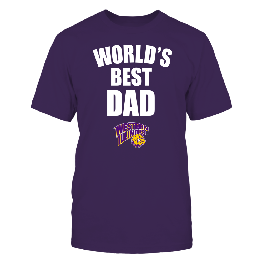 Western Illinois Leathernecks - World's Best Dad - Bold Front picture