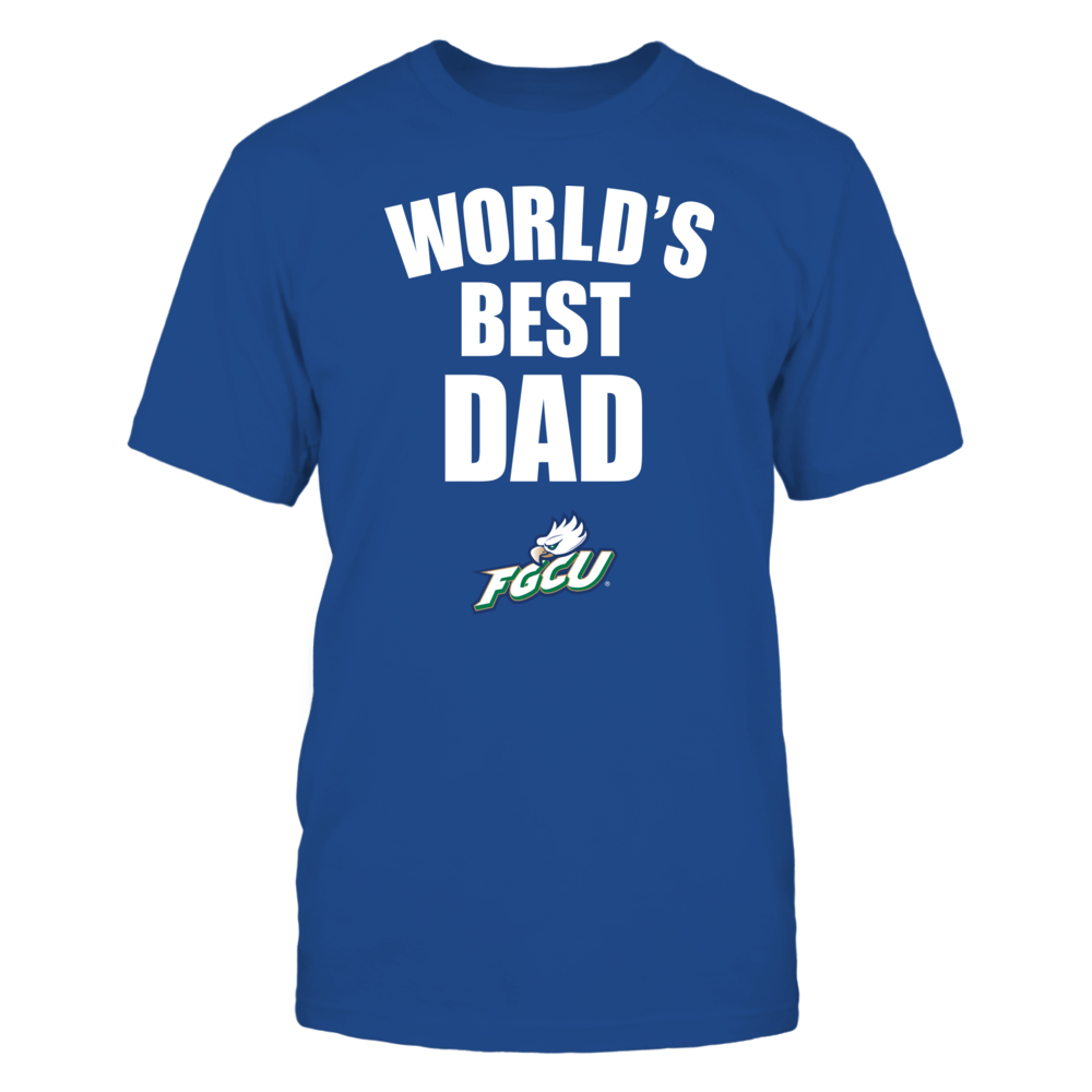 Florida Gulf Coast Eagles - World's Best Dad - Bold Front picture