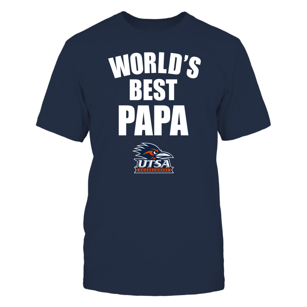 UTSA Roadrunners - World's Best Papa - Bold Front picture