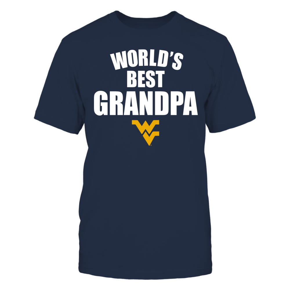 West Virginia Mountaineers - World's Best Grandpa - Bold Front picture