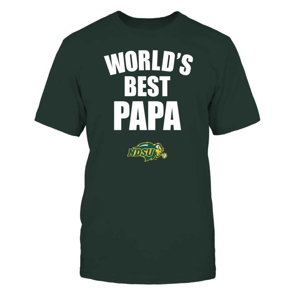 North Dakota State Bison - World's Best Papa - Bold Front picture