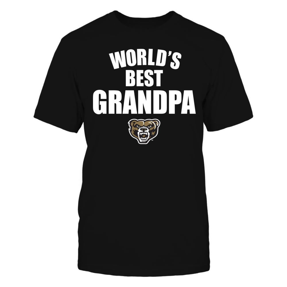 Oakland Golden Grizzlies - World's Best Grandpa - Bold Front picture