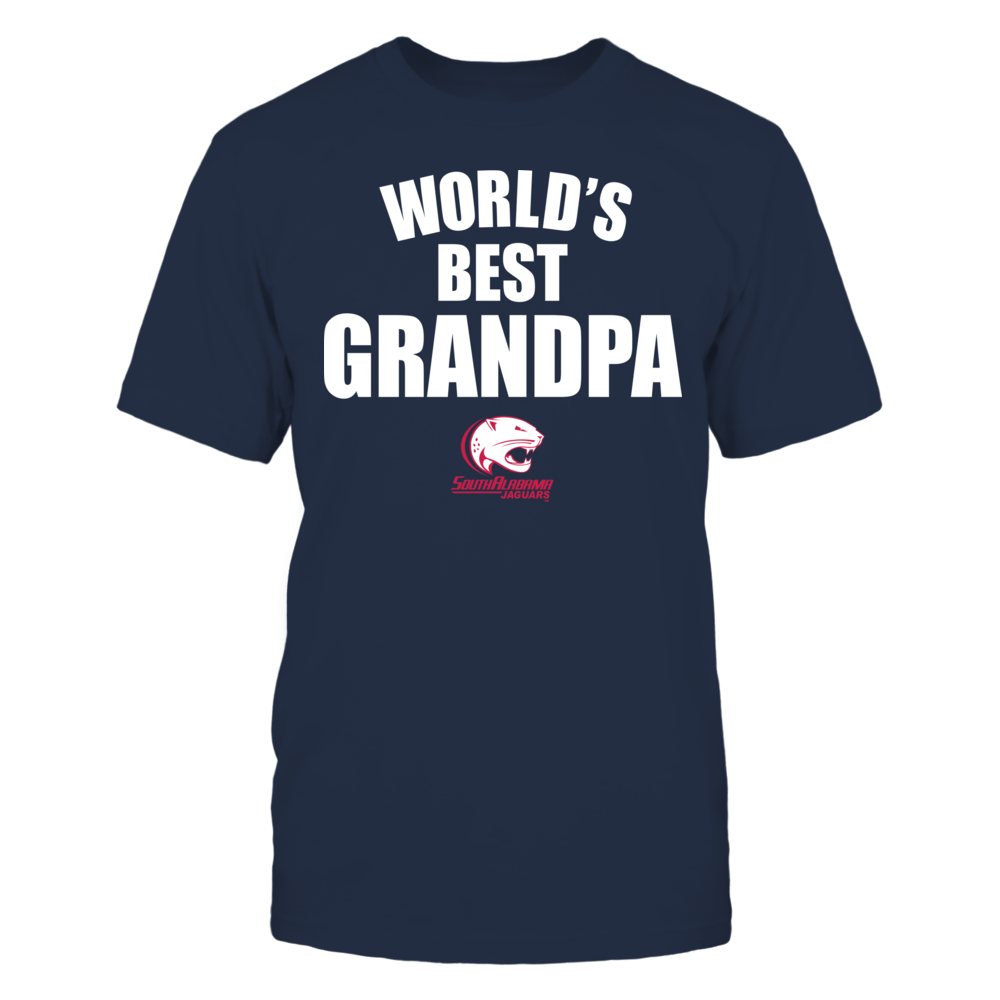 South Alabama Jaguars - World's Best Grandpa - Bold Front picture