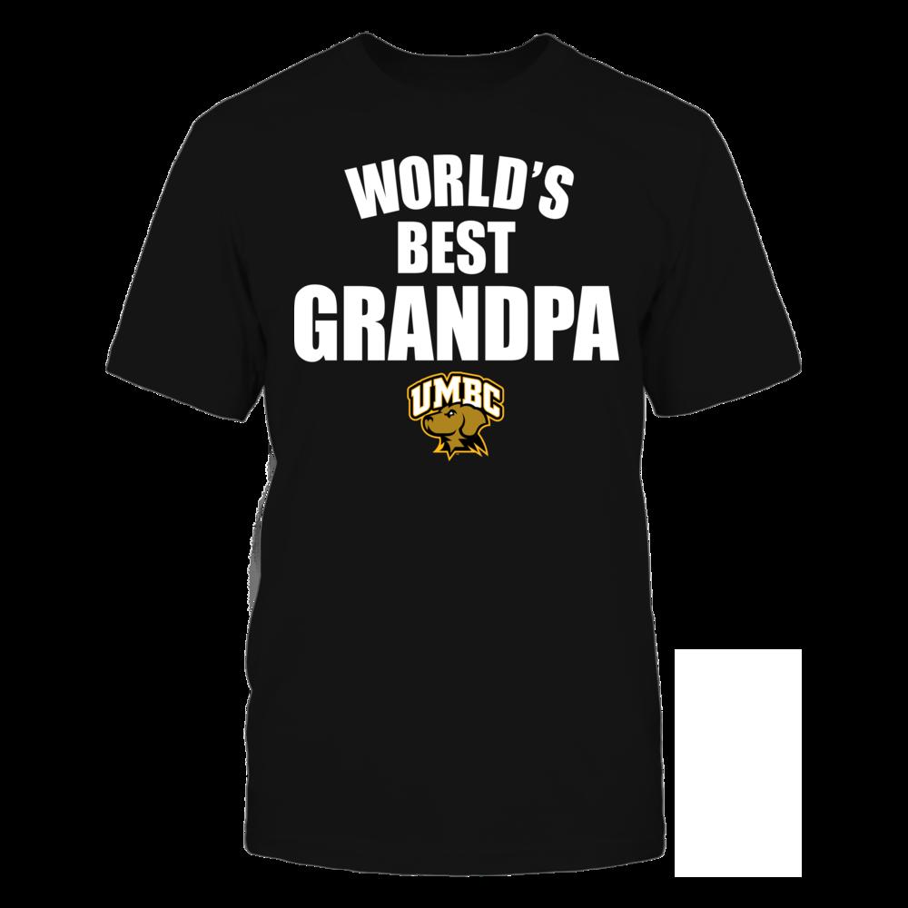 UMBC Retrievers - World's Best Grandpa - Bold Front picture