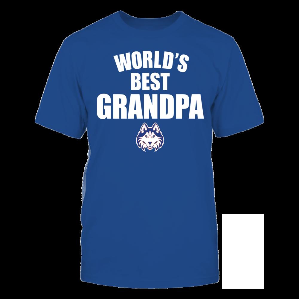 Houston Baptist Huskies - World's Best Grandpa - Bold Front picture