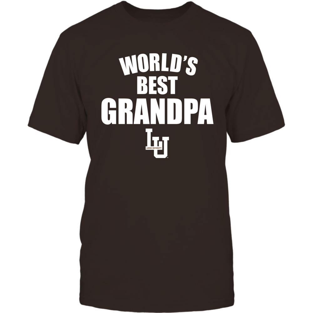 Lehigh Mountain Hawks - World's Best Grandpa - Bold Front picture