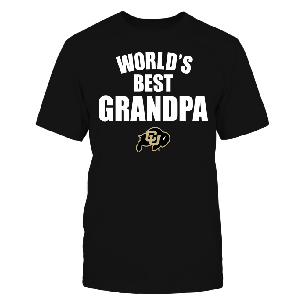 Colorado Buffaloes - World's Best Grandpa - Bold Front picture