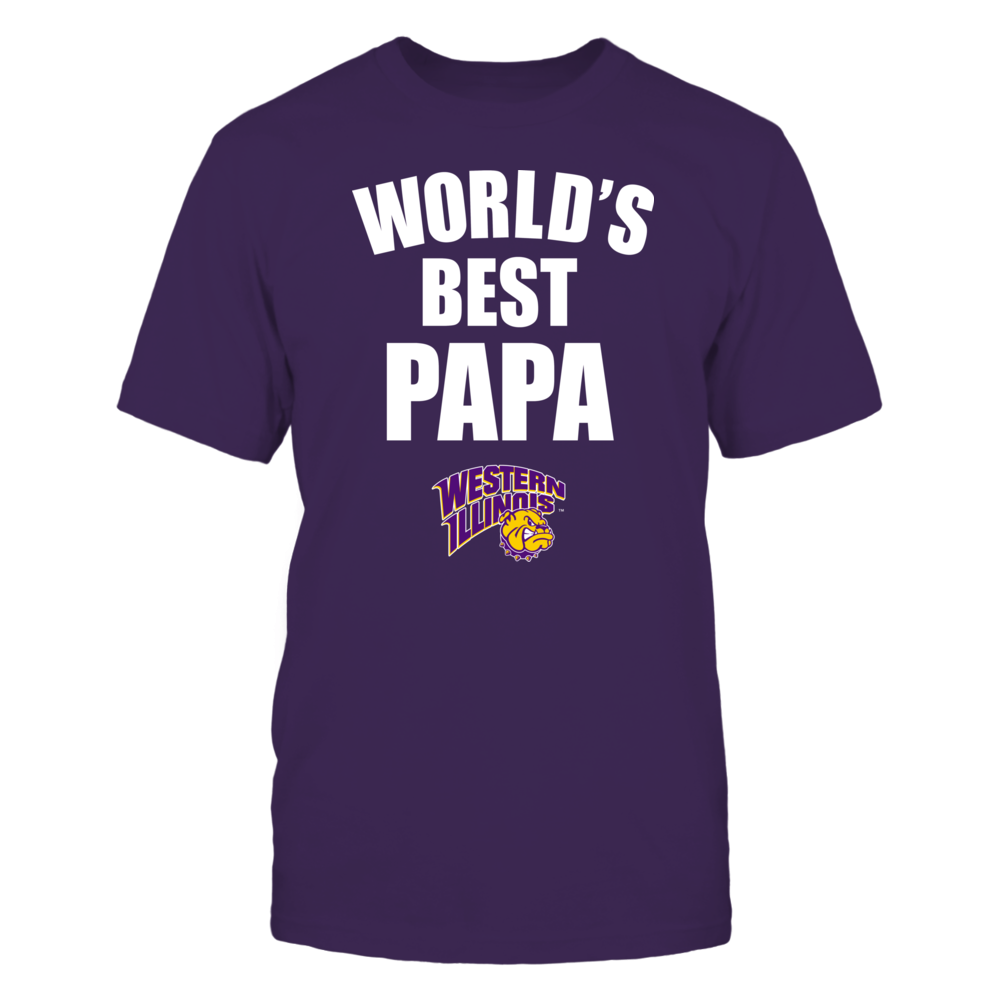 Western Illinois Leathernecks - World's Best Papa - Bold Front picture