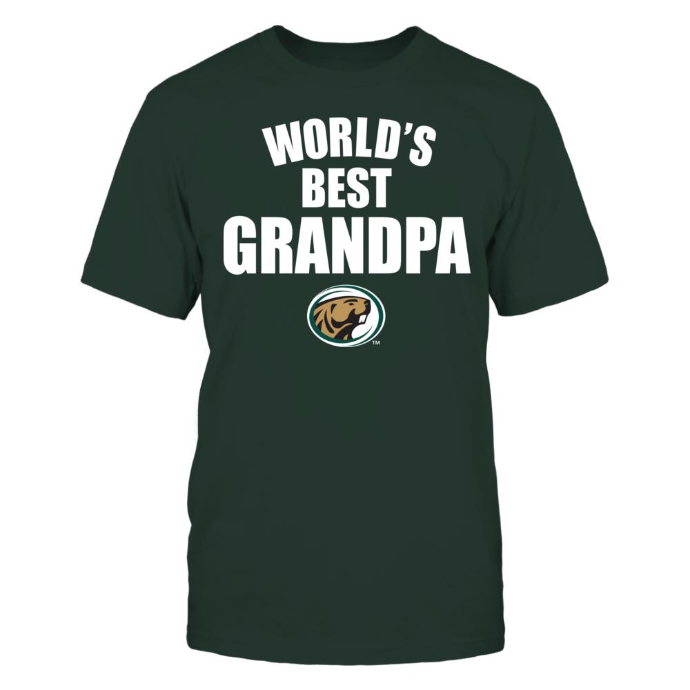 Bemidji State Beavers - World's Best Grandpa - Bold Front picture