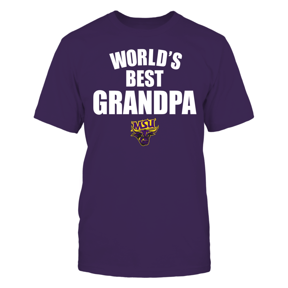 Minnesota State Mavericks - World's Best Grandpa - Bold Front picture