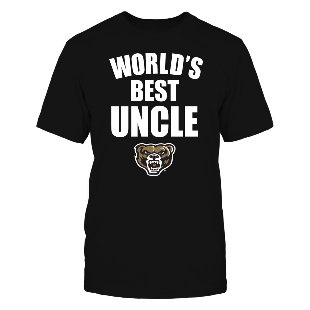 Oakland Golden Grizzlies - World's Best Uncle - Bold Front picture