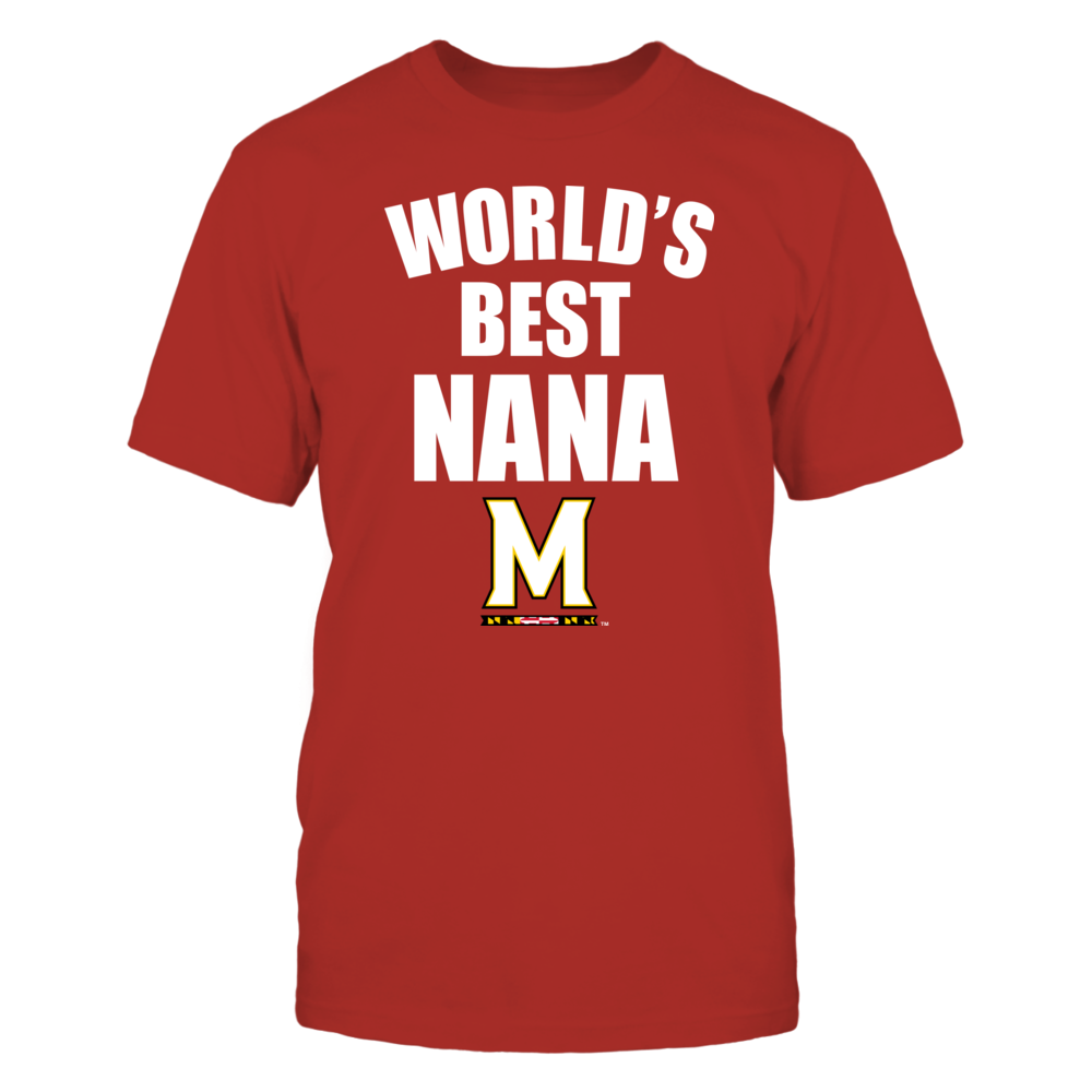 Maryland Terrapins - World's Best Nana - Bold Front picture