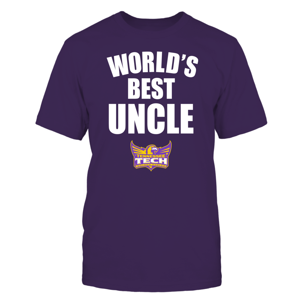 Tennessee Tech Golden Eagles - World's Best Uncle - Bold Front picture