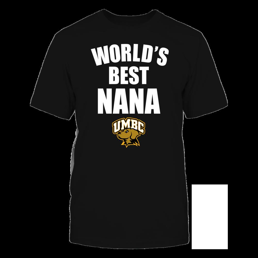 UMBC Retrievers - World's Best Nana - Bold Front picture