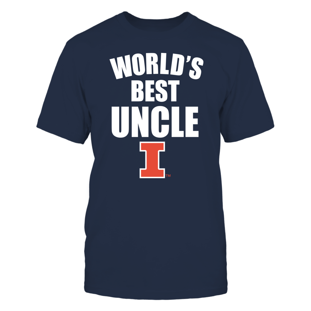 Illinois Fighting Illini - World's Best Uncle - Bold Front picture