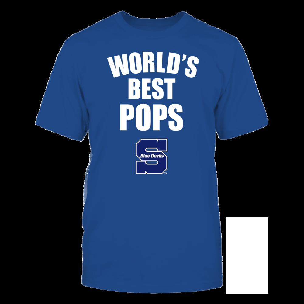 Wisconsin Stout Blue Devils - World's Best Pops - Bold Front picture