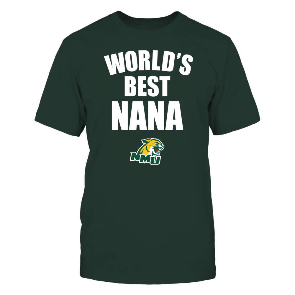 Northern Michigan Wildcats - World's Best Nana - Bold Front picture